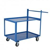 Chariot de Picking 2 Plateaux Capacité 250 kg