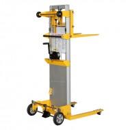 Gerbeur manuel encadrant a manivelle levee 2500 mm capacité 181 kg