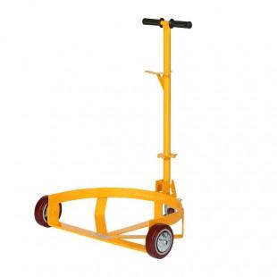 Chariot pour fut en acier capacité 500 kg