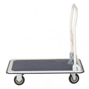 Profil du chariot de manutention rabattable en acier