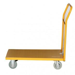 Vue de profil du chariot de manutention 200 kg