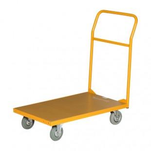 Vue arrière du chariot de manutention 200 kg