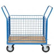 Chariot de Manutention Grillagé 4 côtés Capacité 500 kg