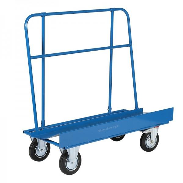 Chariot de Manutention Porte Panneaux Capacité 500 kg