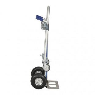Diable en aluminium position verticale force 200 kg