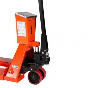 Transpalette peseur 2000 kg Précision 0.1% cadrant waterproof