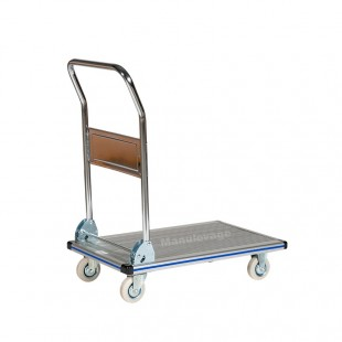 Chariot de manutention rabattable en aluminium léger 150 kg