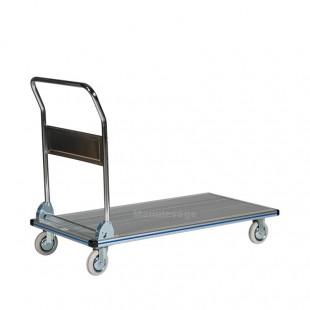 Chariot de manutention en aluminium anti dérapant 300 kg