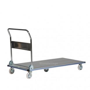 Chariot de manutention en aluminium anti dérapant 350 kg