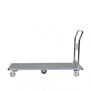 Chariot de manutention en aluminium anti dérapant 350 kg vue de profil