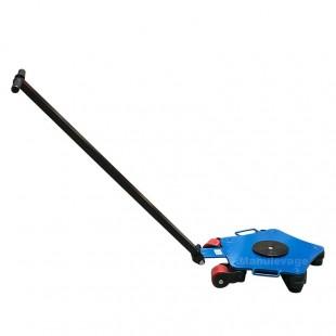 Rouleur pivotant 4 tonnes 5 roulettes pour le transport de charges lourdes