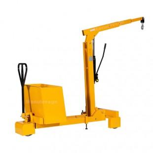 Grue d'atelier hydraulique déportée capacité 550 kg
