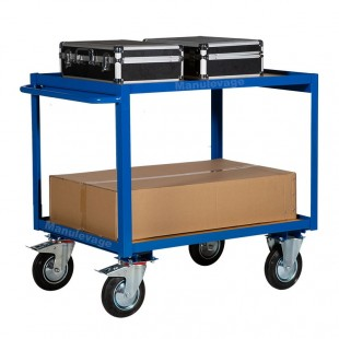 servante d atelier 2 plateaux bois capacité 300 kg