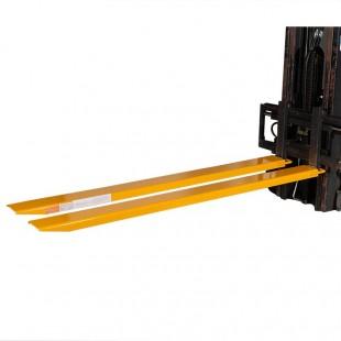 Rallonges de fourches longueur 2435mm capacité 1 tonne