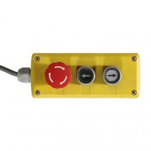 zoom-boitier-commande-table-elevatrice-electrique
