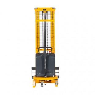 vue de face du gerbeur semi electrique levee 2500 mm pour la manutention professionnelle