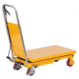 Table élévatrice 150 kg Plateau 700x450 mm plateau bas