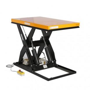 Table élévatrice électrique avec boitier de commande câble 3 mètres plateau 1300 x 1000 mm