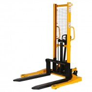 Gerbeur Manuel Encadrant Fourches Reglables Levée Rapide1600 mm (4cm) 1500 kg