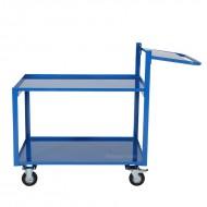 Chariot de Picking 2 Plateaux 900 x 500 mm Capacité 250 kg