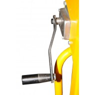 Mini Gerbeur à Manivelle Levée 1050 mm Capacité 120 kg