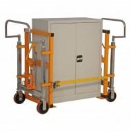 Diables Jumelés pour Charges Encombrantes Levée 250 mm Capacité 1800 kg