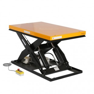 Table élévatrice électrique 2000 kg plateforme 1300 x 800 mm mi haute