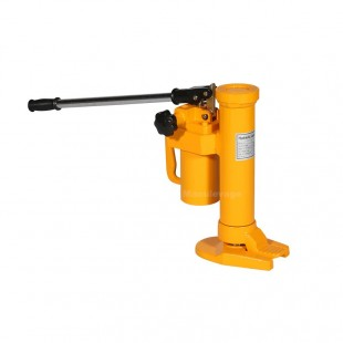 Cric hydraulique professionnel en position basse