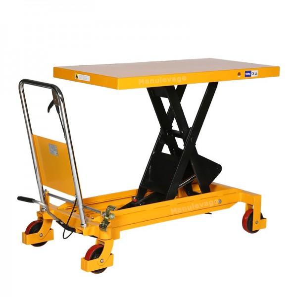 Table élévatrice 1500kg plateau 1220x610mm
