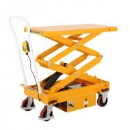 Table élévatrice électrique mobile double ciseaux capacité de charge 300 kg vue avant