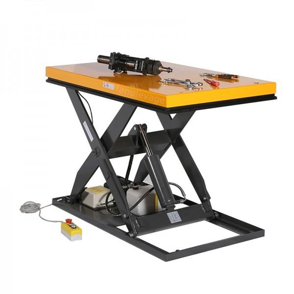 Table Elévatrice Electrique 1000 kg Plateau 1300x800 mm 380V
