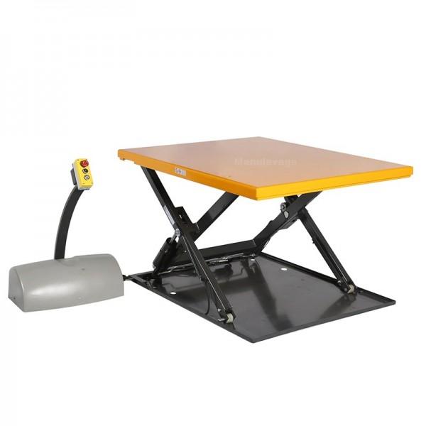 Table élév. élec extraplate 1000kg plateau 1450x1140m 220V
