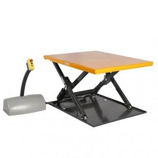 Table elevatrice electrique extraplate 1 tonne plateau levé