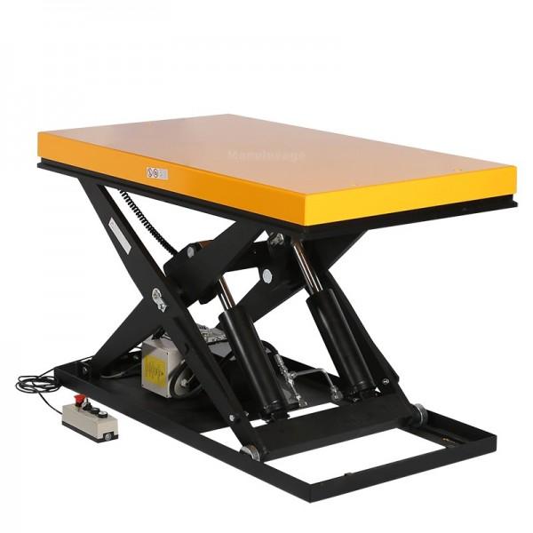 Table élévatrice électrique 2500kg  Manulevage