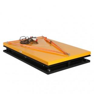 Table élévatrice electrique 2200 kg plateau 1830 x 1220 mm abaissé