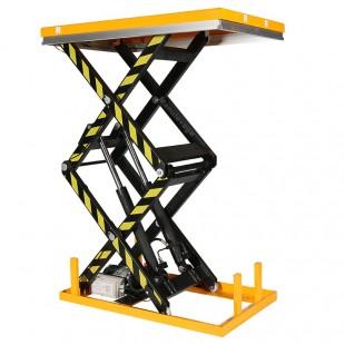 Table elevatrice electrique 1 tonne double ciseau levée à 1780 mm