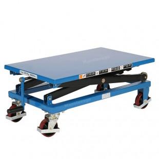 Table elevatrice à manivelle plateau bas