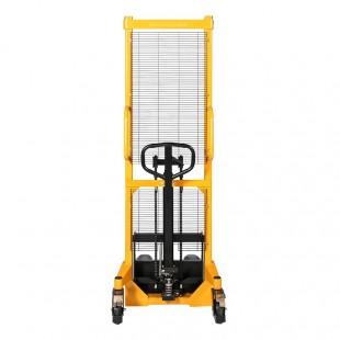 Vue de face du gerbeur levée rapide 1600 mm capacité 1500 kg