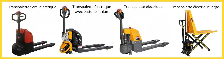 transpalette electrique